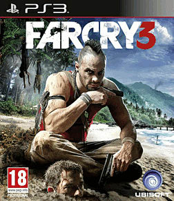 Far Cry 3 PlayStation 3 Cover Art