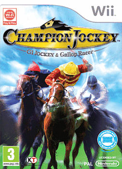 Champion Jockey: G1 Jockey & Gallop Racer Wii Cover Art