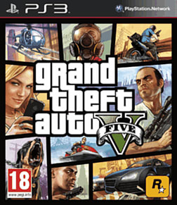 Grand Theft Auto V PlayStation 3 Cover Art