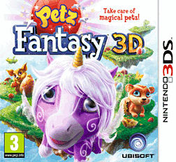 Fantasy Petz 3D 3DS Cover Art