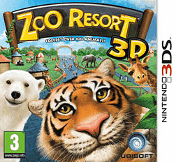 Zoo Resort 3D 3DS Cover Art