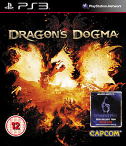 Dragon's Dogma PlayStation 3 Cover Art