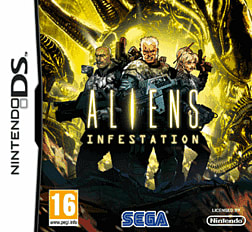 Aliens Infestation DSi and DS Lite Cover Art
