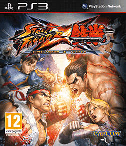 Street Fighter X Tekken PlayStation 3 Cover Art