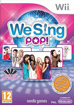 We Sing Pop Wii Cover Art