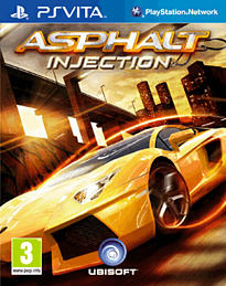 Asphalt Injection PS Vita Cover Art