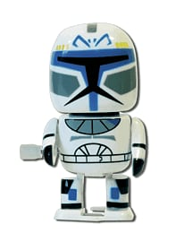 Star Wars Wind-Up Captain Rex Toys and Gadgets 