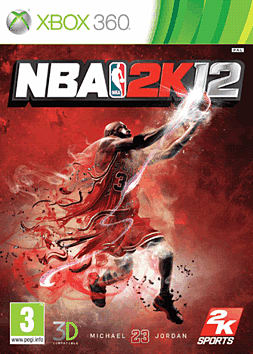 NBA 2K12 Xbox 360 Cover Art