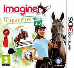 Imagine: Champion Rider 3DS Cover Art