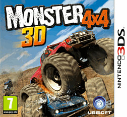 Monster 4x4 3D 3DS Cover Art