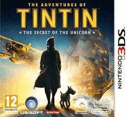 The Adventures of Tin Tin 3DS Cover Art