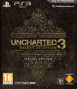 Uncharted 3: Drake's Deception Special Edition Playstation 3 Cover Art