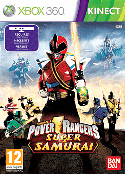 Power Rangers Super Samurai Xbox 360 Kinect Cover Art