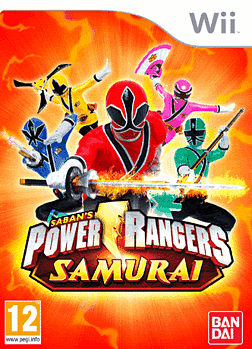 Power Rangers Samurai Wii Cover Art