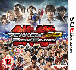 Tekken 3D Prime Edition 3DS Cover Art