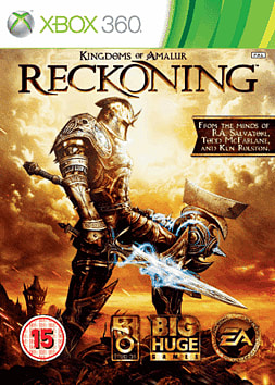 Kingdoms of Amalur: Reckoning Xbox 360 Cover Art