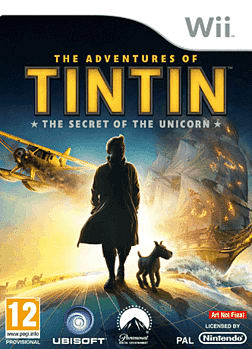 The Adventures of Tin Tin Wii Cover Art