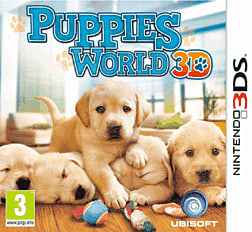 Puppies World 3D 3DS Cover Art