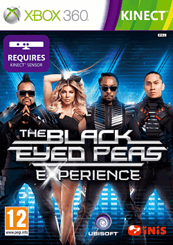 Black Eyed Peas Experience Xbox 360 Kinect Cover Art