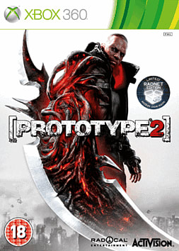 Prototype 2 Radnet Edition Xbox 360 Cover Art