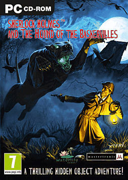 Sherlock Holmes and the Hound of Baskervilles PC Games Cover Art