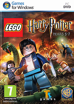 Lego Harry Potter Years 5-7 PC Games Cover Art