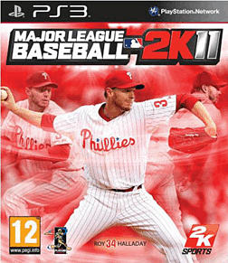 Major League Baseball 2K11 PlayStation 3 Cover Art