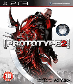 Prototype 2 Radnet Edition PlayStation 3 Cover Art
