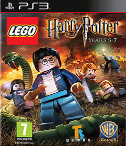 Lego Harry Potter Years 5-7 PlayStation 3 Cover Art