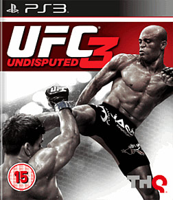 UFC Undisputed 3 PlayStation 3 Cover Art