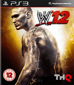 WWE 12 PlayStation 3 Cover Art