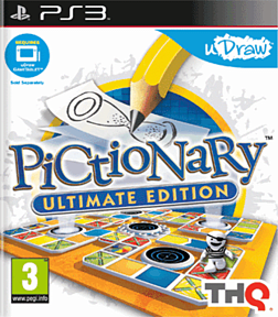 uDraw Pictionary PlayStation 3 Cover Art