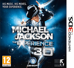 Michael Jackson: The Experience 3DS Cover Art