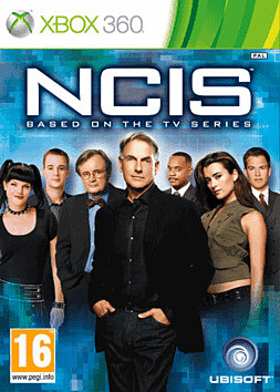 NCIS Xbox 360 Cover Art