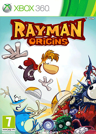 Rayman Origins on the Xbox 360