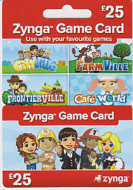 Zynga £25 Combo Card Accessories