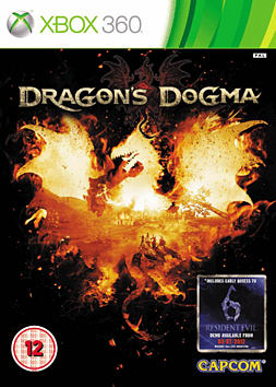 Dragon's Dogma Xbox 360 Cover Art