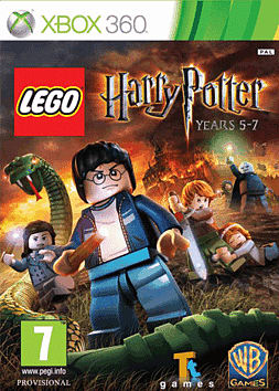 Lego Harry Potter Years 5-7 Xbox 360 Cover Art