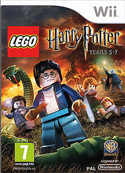 Lego Harry Potter Years 5-7 Wii Cover Art