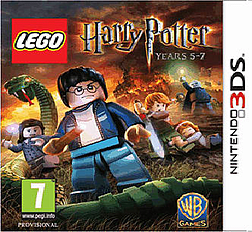 Lego Harry Potter Years 5-7 3DS Cover Art