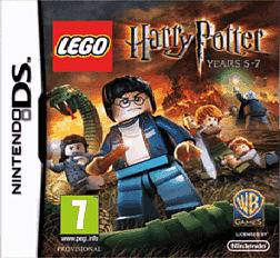 Lego Harry Potter Years 5-7 DSi and DS Lite Cover Art