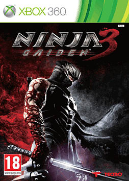 Ninja Gaiden 3 Xbox 360 Cover Art