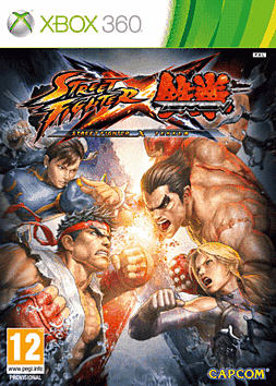 Street Fighter X Tekken Xbox 360 Cover Art