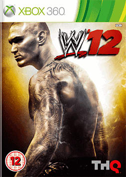 WWE 12 Xbox 360 Cover Art