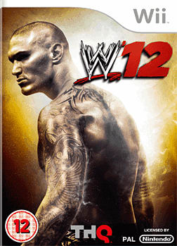 WWE 12 Wii Cover Art