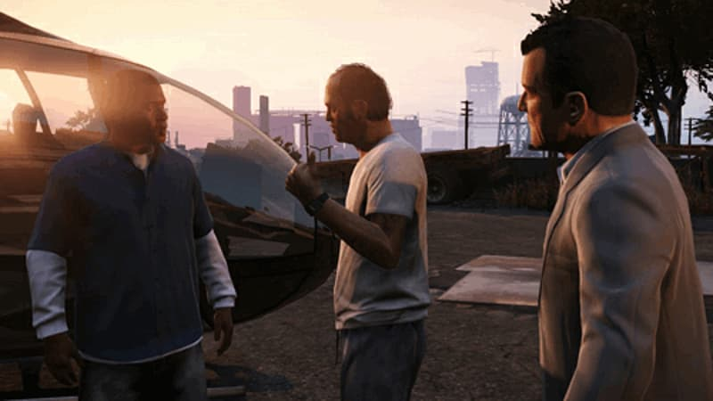 Grand Theft Auto V Xbox 360 and PS3 at GAME