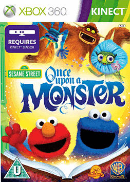 Sesame Street: Once Upon a Monster Xbox 360 Kinect Cover Art