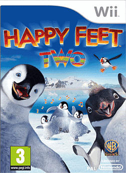 Happy Feet 2 Wii Cover Art