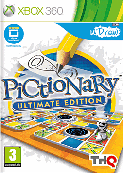 uDraw Pictionary Xbox 360 Cover Art