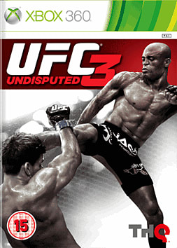 UFC Undisputed 3 Xbox 360 Cover Art